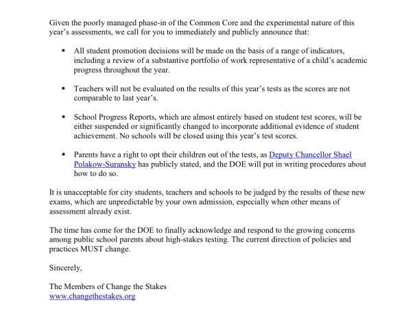 CTS Post2Letter to Chancellor Walcott CROP