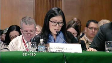 Jia Lee Senate testimony 01 21 15